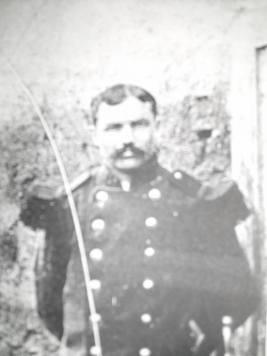 Jules André, mon grand-père paternel. Mobilisé à 26 ans au 171ème Régiment d'Infanterie. Domicilié à Ronchamp (70)