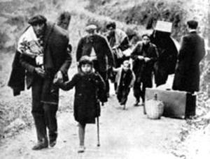 Réfugiés espagnols