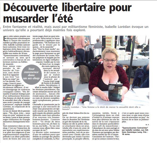 Presse de Vesoul - 28 juillet 2016